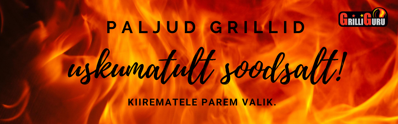 grillide soodusmüük, soodushinnaga grillid, soodsad grillid